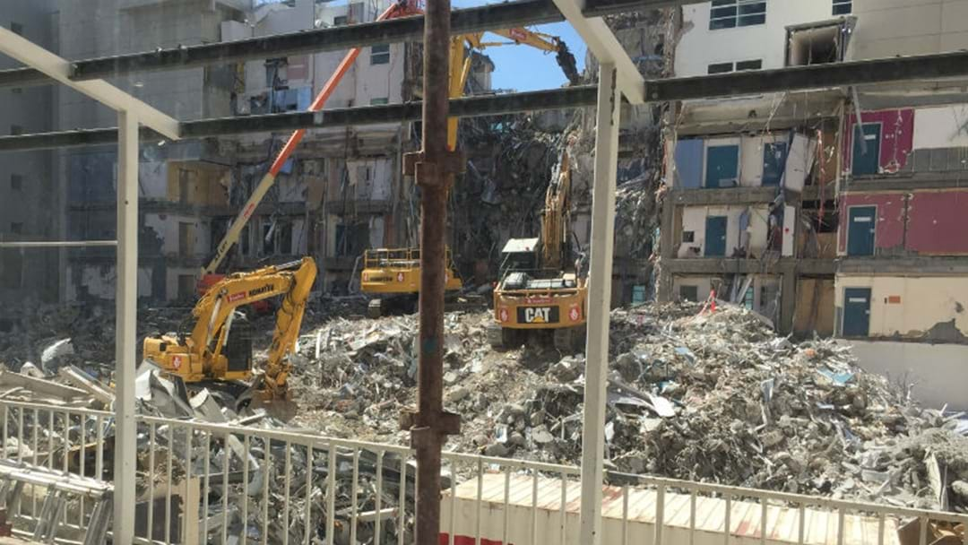 Exclusive images from Hospital Demolition
