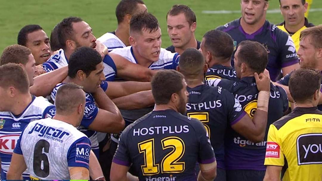 Two In The Bin As Fists Fly At Belmore