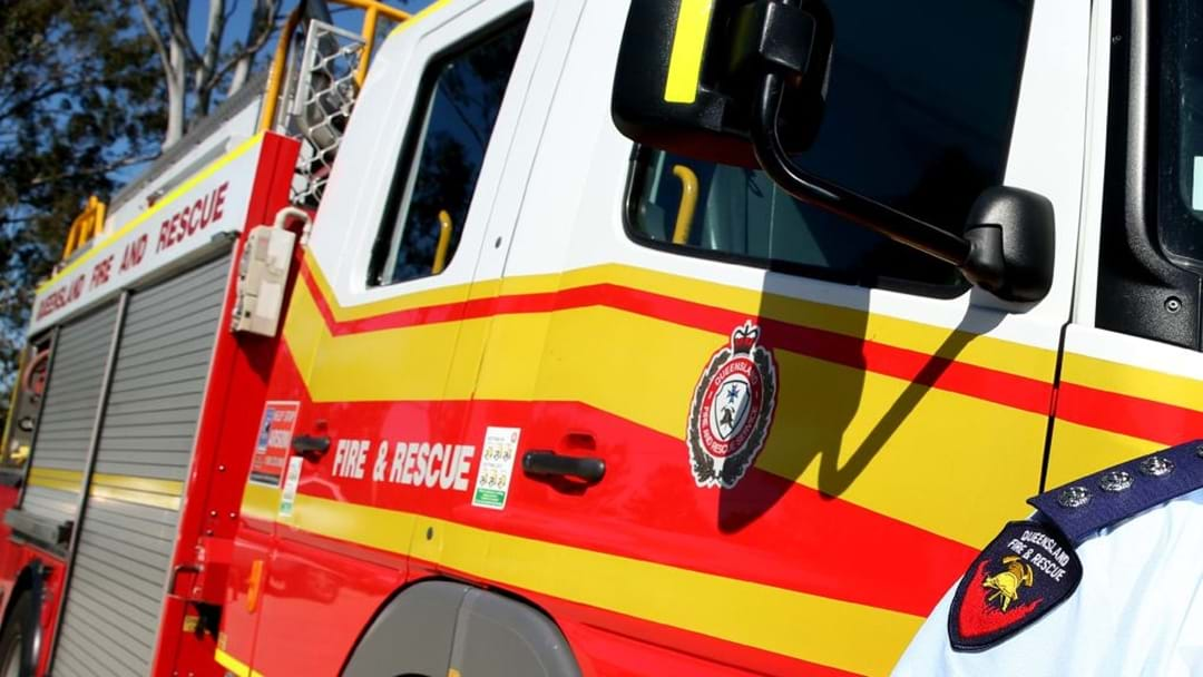 Lucky Escape for Truck Driver after Trailer Catches Fire